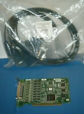 Ni Pci-8431/8 Rs485 Rs422 with 8 Port Cable, National Instruments *Tested*