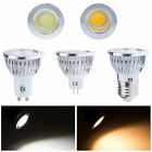 10/20/50x Dimmable Bombillas 6W 9W 12W MR16 E27 GU10 COB LED Spotlight Lamp Bulb
