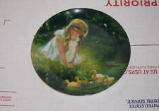 "Bradford Exchange ""Golden Moment"" Zolan 1984 Collectors Plate #1865H"
