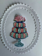 Tattered Lace x3 gâteau Stands Topper Die Cuts anniversaire anniversaire