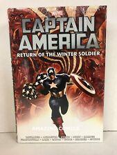Marvel CAPTAIN AMERICA RETURN OF WINTER SOLDIER Omnibus Hardcover HC - MSRP $100