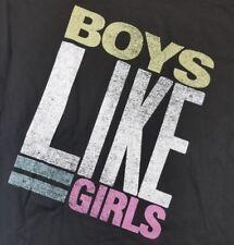 Men's Boy's Like Girls Logo Medium T-Shirt Licensed Band Merch New Pop Punk