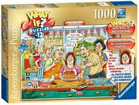 Ravensburger Jigsaw Puzzle What If CAKE OFF - 1000 Piece