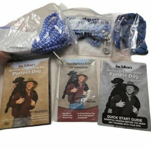 Don Sullivan's Secrets to Training the Perfect Dog DVD With Accessories Unused