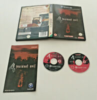 Resident Evil 4 - Nintendo Gamecube Game - Complete With Instructions - PAL