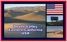 DEATH VALLEY, USA - SOUVENIR NOUVEAUTÉ AIMANT DE RÉFRIGÉRATEUR - - CADEAU