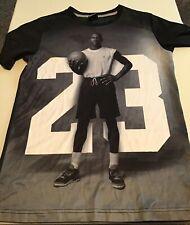 Mj Michael Jordan Boy's Vtg Graphic T-Shirt Young Jordan Basketball Size Xl