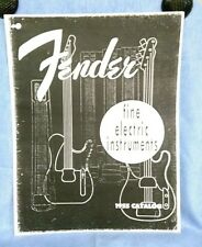 Fender fine electric instruments 1955 reprinted #1