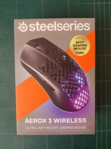 SteelSeries Aerox 3 Wireless ultra lightweight Gaming Mouse