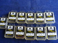 SELECTION UNUSED OLD SHOP STOCK BOXES MUSTAD LASER TECH MATCH + BARBLESS HOOKS