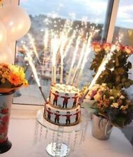 BIRTHDAY WEDDING CAKE SPARKLERS PARTY CANDLES HIGH QUALITY