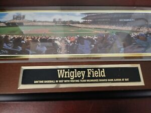 Sports Impressions – Wrigley Field – Artist Bill Purdom Numbered Edition Collect