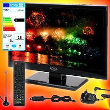 Xoro HTL 1546 40cm Camping TV DVB-T2/S2/C 12V 230V Fernseher CI+ USB HDMI EEK A