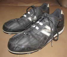 New Balance 990 Men Us Size 10 Football Cleats Black Silver Sport Athletic Shoes