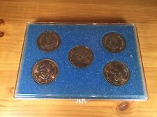 Labatt Brier 1992 Coin Set Of 5 Token Curling Regina Saskatchewan Champions