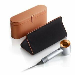 Dyson Supersonic™ Neuwertig Haartrockner Silber/Kupfer inkl. Travelbag +