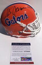 Steve Spurrier Signed Auto Florida Gators Mini Helmet Heisman Trophy Psa/Dna