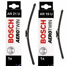 "Hojas De Limpiaparabrisas Frontal BOSCH Aerotwin 530mm/21""+475mm/19"" | AR21U+AR19U"