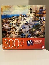 Santorini Greece 300 Piece Puzzle New MB 24X18 2019