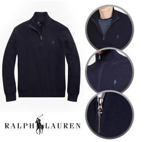 Brand New Ralph Lauren Half Zip Jumper - Sweater - Grey - Navy - Black - Winter