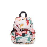 Kipling Backpack CITY PACK MINI Small MUSIC PRINT  FW19 RRP £77