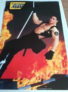 RETRO POSTER.ACTION MAN.HASBRO.1995.GAY INTEREST.LGBT