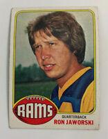 1976 Ron Jaworski # 426 Los Angeles Rams LA Topps Football Card NFL