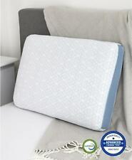 Pair of SensorGel Advanced iCool Gusset Memory Foam Standard Pillows White $280