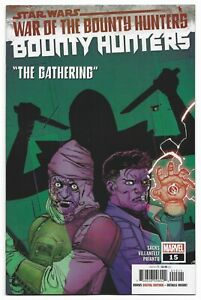 Star Wars Bounty Hunters #15 2021 Unread Camuncoli Main Cover Marvel Comic WOBH