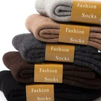 Wool Cashmere Comfortable Thick Socks Mens Winter Outdoor Sports Socks Warm Soft