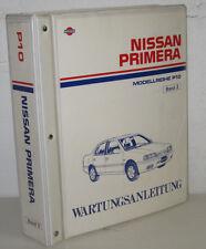 Werkstatthandbuch Wartung Nissan Primera P 10 Bremsen Heizung Stand April 1995!