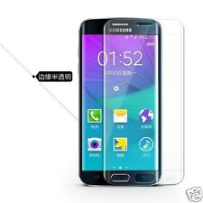 Samsung Galaxy S6 Edge Curved Full Glass Tempered 3D Screen Protector Case Clear