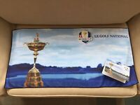 1 x RARE Ryder Cup Tri-Fold Golf Bag or Players Towel Le Golf National 2018