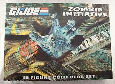 GI Joe 50th Anniversary Zombie Initiative Joecon 2014 15 Figure Box Set MIP