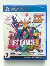 Just Dance 2019 PS4 Sony PlayStation 4 Brand NEW Factory Sealed Russian Cover