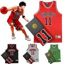 Japan Anime Slam Dunk Shohoku Basketball Replica Jersey Cosplay Costume NO.1-15