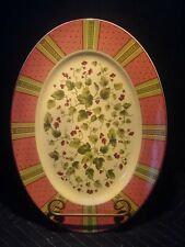 "Waverly Floral Manor Garden Room 14"" Serving Platter - Poland"