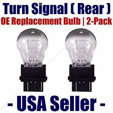 Rear Turn Signal/Blinker Light Bulb 2-pack Fits Listed Buick Vehicles 3057