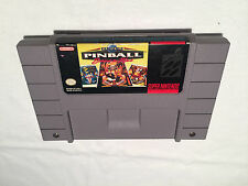 Super Pinball Behind the Mask (Super Nintendo SNES) Game Cartridge Excellent!