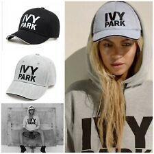 *Beyoncé* IVY PARK Black Women Men Sport Gym Baseball Casquette Chapeau Hat CAP