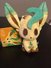 Leafeon Time Plush JAPAN Pokemon Center pokémon time Eevee Collection 2015 Plush