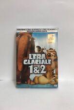 DVD L'ERA GLACIALE 1 e 2 Cofanetto 4 dischi - Nuovo - Disney