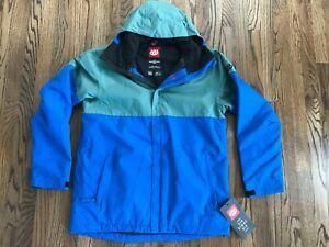 58 Mens 686 Defender Snow Board Ski Jacket KCR903 Insulated Coat M LG XL XXL