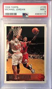 1996 Topps Michael Jordan #139 PSA 9 Mint Bulls 💎🔥