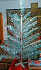 Vintage USSR artificial christmas tree  Green and aluminum color 50in Box! NEW!
