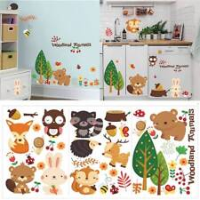 Removable Animals Vinyl Wall Stickers Mural Home Decor Kids Room Nursery Decals