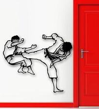 Wall Stickers Vinyl Decal Karate Martial Arts Sports Fight (ig617)