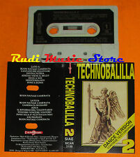 MC TECHNOBALILLA Dance version 2 italy ALPHARECORD MCAR 3198  cd lp dvd vhs