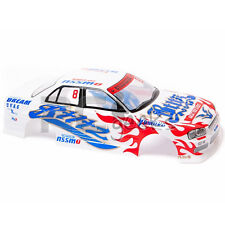 RCG Racing 1/10 Nissan Skyline GTR Body Shell 190mm s015w blanc