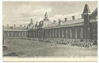 Vintage uncolored postcard: Elmira State reformatory dress parade, Elmira, NY